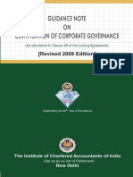 Corporate Governance guidance