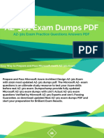 AZ-301 Test Dumps PDF - Microsoft Azure Architect Design AZ-301 Exam
