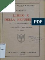 Platone Repubblica Libro x