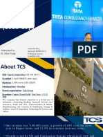 Analysis of anuual report of Tata consultancy services (TCS) 2019