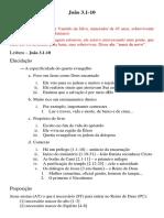 Sermão Jo 3.1-10