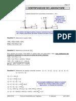 TD 08 Corrigé - Calcul Vectoriel