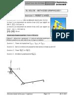 TD 10 - Comportement Cinématique Des Systèmes