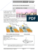 TD 21 - Comportement Statique Des Systèmes