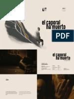 El caporal ha muerto_Press Kit (2020)