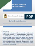 Jornada Derecho Procesal del Trabajo M I