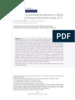 DCM - prevalencia do autorrelato de depressao no brasil, pns 2013.pdf