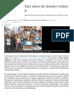 06 30 años de educación en democracia Susana Decibe Diario Perfil