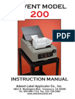 Advent 200 Manual 2005