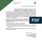 Indicaciones Por Solemnidad Inmaculada Concepción 2019
