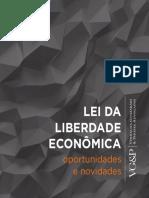 E-Book - Lei de Liberdade Econômica