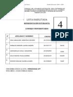 Lista de asamblea