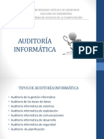 SEMANA 2 ASI Auditoria de Sistemas de Información