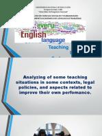 Seminar for English language teaching LESSON 2