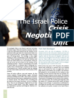 The Israel Police Crisis Negotiation Unit