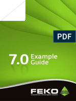 ExampleGuide Feko 5.5