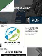 Delicious Mikhuy-modelo de Negocio