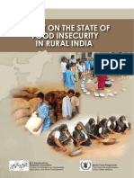 State of Food In Security in Rural India