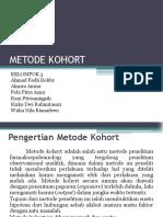 METODE KOHORT