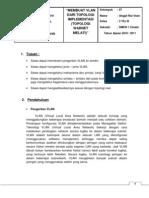 Laporan Praktek VLAN Topologi Implementasi