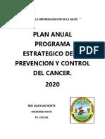 PLAN ANUAL CANCER 2020