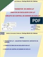 Unidad 5 Trnsitor Ujt-Ondas-scr Juan Hernandez