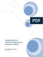 Competitiveness Analysis Using System Dynamics - Report