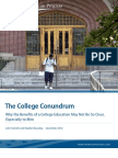 The College Conundrum