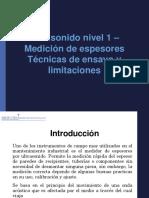 2010_UT1_ESPESORES_4_TÉCNICAS DE ENSAYO Y LIMITACIONES