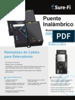 Puente Inalambrico DS006-RELAY (Hoja de datos)
