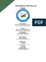 Práctica de psicología clínica 1 tarea 5