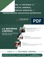 Presentación Reforma Laboral 030919