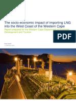 Socio-Economic impact of importing LNG into West Coast