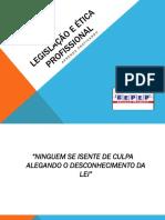 LEGISLAÇÃO E ÉTICA PROFISSIONAL - Cópia