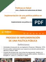 Políticas públicas.