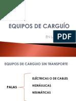 EQUIPOS CARGUIO CAEX