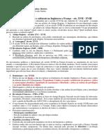 EXTENSIVO - Rev Inglesas, Iluminismo e Rev Francesa