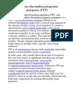 ITP bio pptx
