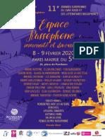 Les journées européennes du livre russe 2020 à la mairie du 5ème arrondissement