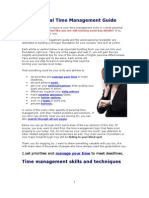 Personal Time Management Guide