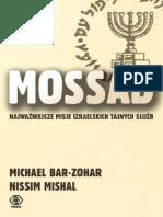 Mossad_ najwazniejsze misje izraelskich tajnych służb - Michael Bar-Zohar