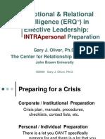 Emotional & Relational Intelligence (ERQTM) in Effe