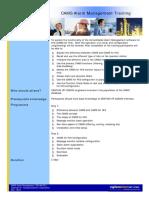 CAMS Alarm Management  YEF-AG-001