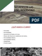 TEMA 6 PROPIEDADES DE LAS ROCAS DEL RESERVORIO
