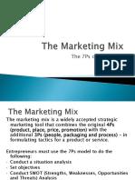5. The Marketing Mix