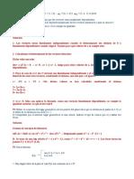 P1 Dados los vectores