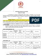 CONCURSO SAMU EDITAL ABERTURA  PR 2020