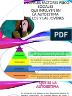 PRINCIPALES FACTORES PSICOSOCIALES QUE INFLUYEN EN EL AUTOESTIMA