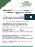 AAVV_2015_Las TIC como herramienta pedagógica en procesos de investigación educativa