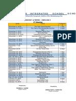 Idoc.pub English Grade 8 3rd Quarter Budget of Work Converted